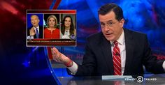 When 2 Women On Fox News Are Faced With Bill O'Reilly's Sexism, Stephen Colbert Strikes Comedy Gold.