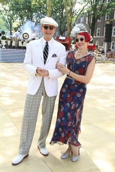 They Are Wearing: Governors Island's Jazz Age Lawn Party - Slideshow