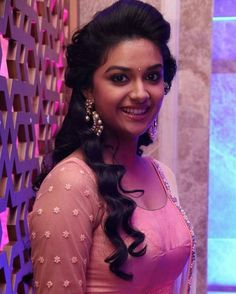 Keerthi Suresh at Remo First Look Launch Beautiful Girl Indian, Most Beautiful Indian Actress, Beautiful Actresses, South Actress, South Indian Actress, Hot Actresses, Indian Actresses, Thing 1, Beauty Full Girl