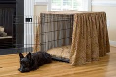 Ideas for hiding the dog crate..