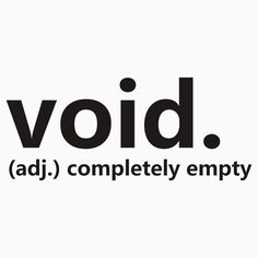 Dictionary Collection - Void