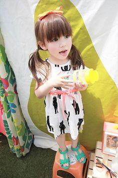 幼女32 Asian Kids, Asian Babies, Kids Girls, Little Girls, Baby Kids, Cute Kids, Cute Babies, Super Moda, Vintage Kids Fashion