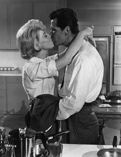 Doris Day & James Garner. Just watched my first movie today with them in it! They are so cute <3