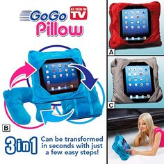 The GoGo Pillow is sure to be a hot seller this Holiday Season. Order your GoGo Pillow before they sell out!