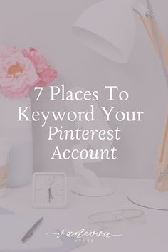 How to Keyword Your Entire Pinterest Account | Vanessa Kynes | Are you using keywords in your Pinterest marketing strategy? I explain how to get started using keywords with Pinterest SEO to drive traffic to your blog website. #pintereststrategy #pinteresttips Online Marketing, Media Marketing, Marketing Strategies, Business Marketing, Social Marketing, Mobile Marketing, Inbound Marketing, Marketing Ideas, Content Marketing