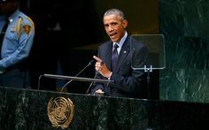 """LIES!! Obama at the UN: """"United States is not and never will be at war with Islam. Islam teaches peace."""""""