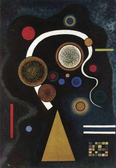 Capricious Line,1924,by Wassily Kandinsky