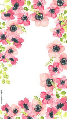 watercolor-floral-tablet-wallpaper.jpg 716×1,273 pixels