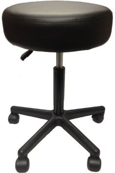 Balego SS7677 Adjustable Rolling Pneumatic Stool for Massage Tables Examination Black u003eu003eu003e Click image  sc 1 st  Pinterest & Cramer Scooter Stool Round 15 Step Lock Wheels to 300 lbs Gray ... islam-shia.org