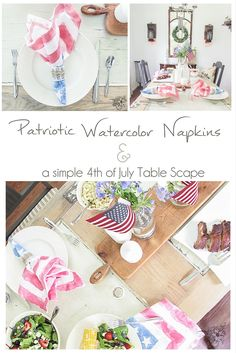 Patriotic Watercolor