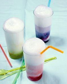 Shake it up:  Milk shake and float recipes.