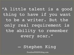 Stephen King quote