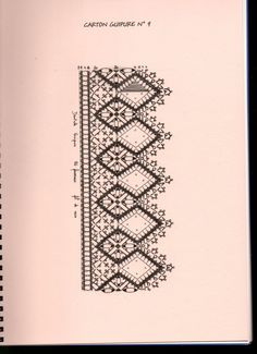 Álbum - Google+ Border Embroidery Designs, Bobbin Lace Patterns, Needle Lace, Band, Arts And Crafts, Crochet, Drawing, Google, Painting
