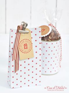 Keksverpackung I DIY Geschenktüten I cookie packaging I food packaging I template paperbag I Casa di Falcone
