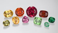 Garnet comes in as wide a variety of sizes and shapes as it does colors.