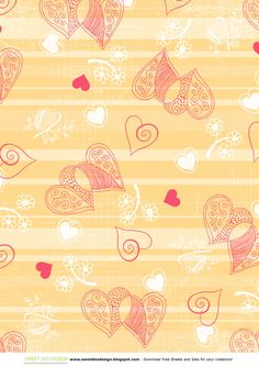Sweet Bio design: Set di Carte di San Valentino Be My Valentine - Paper set
