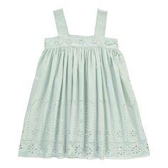 Robe Broderie Anglaise Anemone Stella McCartney Kids Adolescent Enfant- Large choix de Mode sur Smallable, le Family Concept Store - Plus de 600 marques.