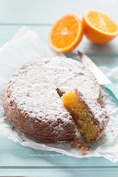 Caprese all'arancia - Torta Caprese all'arancia - Citrus Cake