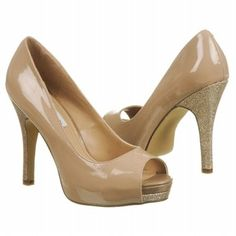 Add the perfect amount of sparkle to your evening with the Steve Madden Ellin in Taupe - @ Famous Footwear!