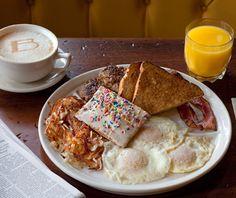 America's Best Brunch Restaurants: Ted's Bulletin..Yes, that's a homemade pop-tart. Must try.
