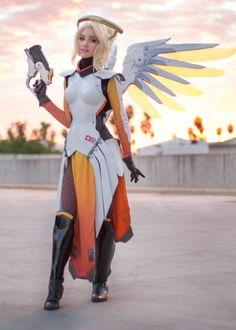 Lyz Brickley as Mercy (Overwatch)