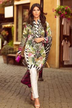 2015 Spring & Summer ZARA SHAHJAHAN Lawn Collection