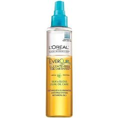 L'Oreal Paris EverCurl Silk and Gloss Dual Oil Care, 6.1 Fluid Ounce * Visit the image link more details.