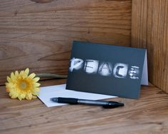 "This ""Peace"" stationery is nice to have on hand for sending to someone who is ill or struggling with life's trials. It comes in packs of 5 or 10 and printed on linen paper."