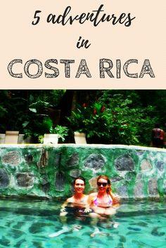 5 eco-adventures to experience at Rincon de la Vieja national park in Costa Rica on a day excursion from Dreams Las Mareas Resort