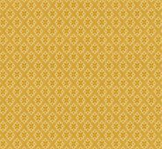 Visa detaljer för Lim & Handtryck Tapet - Mölletorp gul/gul
