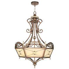 "Livex Lighting Bristol Manor Shaded Chandelier Size: 36.75"" H x 24.5"" W x 24.5"" D"