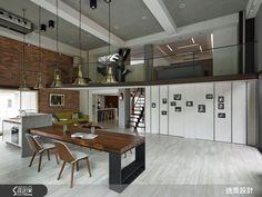 談到 Loft 風格,多數人的想像都是粗獷帶有復古混搭質感的美式空間,以音樂比喻的話,Loft風格給人的感覺往往像是個性較為強烈的重金屬搖滾,使用於咖啡廳、餐廳等商業空間很能帶起氣氛,但是要用在居家空間裡,對於較保守或習慣淡雅美感的長輩來說就有點吃不消了。