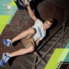 New photo from Justin's NEO Adidas photoshoot