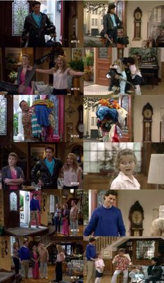 DJ: It's been 30 years since Uncle Jesse and Joey moved in with us. Jesse: Hey! Hey! Look alive. Uncle Jesse is here. DJ: It's so sweet of you guys to came up here to celebrate the day we all became a family. (Fuller House - Season 3) Netflix Home, Netflix Tv Shows, Movies And Tv Shows, Jesse From Full House, Full House Tv Show, Full House Memes, Full House Quotes, Ice Queen Adventure Time, Adventure Time Anime