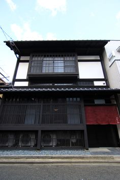 Located in Central Kyoto, Suoan Holiday Rentals is a perfect starting point from which to explore Kyoto. Offering a variety of facilities and services, the hotel provides all you need for a good night's sleep. Service-minded staff will welcome and gu Noren Curtains, Japanese Architecture, Japanese House, Hotel Deals, Japan Travel, Good Night Sleep, Black House, Old Houses, Facade