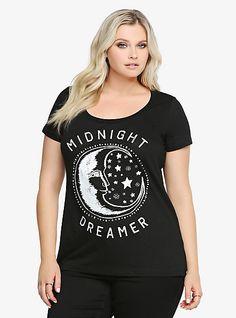 Midnight Dreamer Scoop Tee | Torrid
