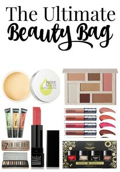 The Ultimate Beauty Bag of Luxury Makeup