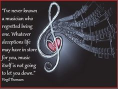 Quotes for musicians!A selection of 25 beautiful and inspiring quotes about music!From Beethoven to BB King, Billy Joel and JewelYou wi...
