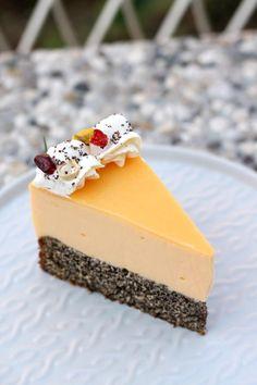Kremasta mak limun torta – Sweetlifebykarla Orange Cookies, Cheesecake, Good Food, Pudding, Desserts, Recipes, Life, Tailgate Desserts, Deserts