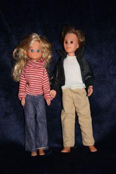 Vintage 1973 Mattel Sunshine Family Dolls | eBay