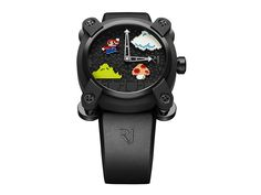 #SuperMario Bros #Luxury Watch Launched at $18,950 If your idea of luxury is having a plumber in a red shirt and blue overalls on a watch, your #dream has come true. Swiss luxury watchmaker Romain Jerome has unveiled its collaboration with Nintendo, a limited edition mechanical watch featuring the titular character of Super Mario Bros, on the 30th #anniversary of the original #game released for the NES.  This isn't the first time the watchmaker has gone the arcade game route, though.