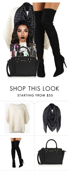 """""""date night"""" by ballislife ❤ liked on Polyvore featuring Chloé, Louis Vuitton, Liliana and MICHAEL Michael Kors"""