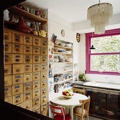 Kitchen vintage bohemian