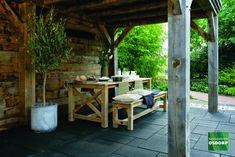 Porch Veranda, Outdoor Furniture Sets, Outdoor Decor, Pavement, Sunroom, Outdoor Living, Pergola, Art Pieces, Outdoor Structures