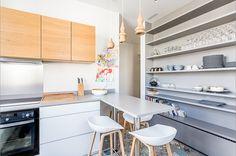 Un appartement parisien rénové pour une famille - PLANETE DECO a homes world