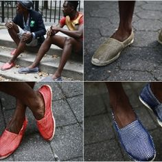 Street Etiquette have teamed up with Soludos for this very interesting version of Mesh Net Espadrilles, inspired by Caribbean culture.