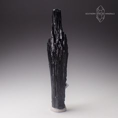 Black Tourmaline with Goshenite Crystal Specimen, Erongo Namibia