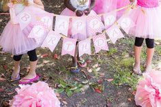 Instant Download DIY  Pink Princess Birthday by CupcakeExpress, $5.00