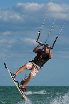 Kite surfing Sanibel Island | by scubasteven74, via Flickr