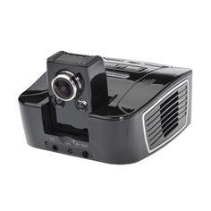 K5 El coche DVR grabadora de vídeo de la cámara 1080p full hd lcd lente de ángulo de 162 grados de 2.7 pulgadas